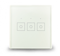 Z-Wave U-Fairy 3 Gang Touch Switch