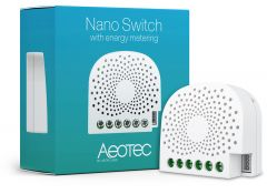 Z-Wave Plus Aeotec Нано выключатель с измерением электроэнергии