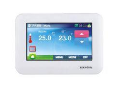Z-Wave Plus TKB Home Термостат с цветным сенсорным LCD экраном