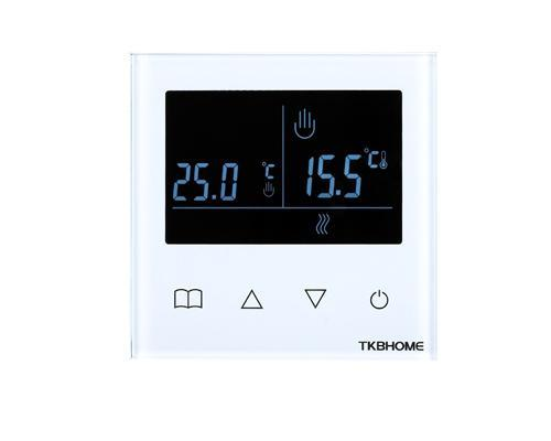 Z-Wave Plus TKB Home Термостат с LCD экраном и недельным расписанием